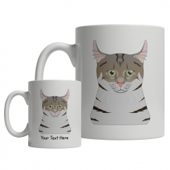 American Curl Cartoon Mug