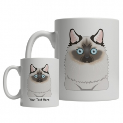 Birman Cartoon Mug