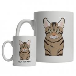 California Spangled Cartoon Mug