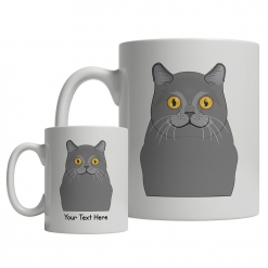 Chartreux Cartoon Mug