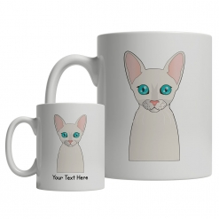 Cornish Rex Cartoon Mug