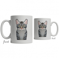 Egyptian Mau Coffee Mug