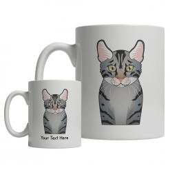 Egyptian Mau Cartoon Mug