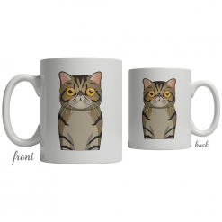 Exotic Shorthair Coffee Mug