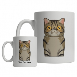 Exotic Shorthair Cartoon Mug