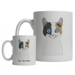 Japanese Bobtail Cartoon Mug