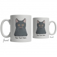 Korat Cartoon Coffee Cup