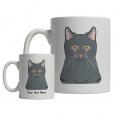 Korat Cartoon Mug