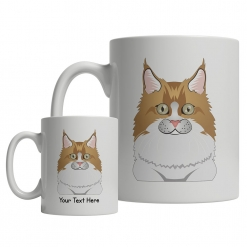 Maine Coon Cartoon Mug