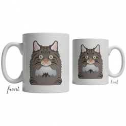 Norwegian Forest Cat Coffee Mug