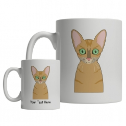 Oriental Shorthair Cartoon Mug