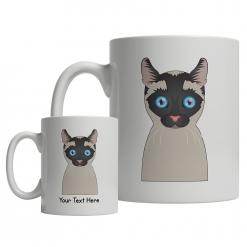 Siamese Cartoon Mug