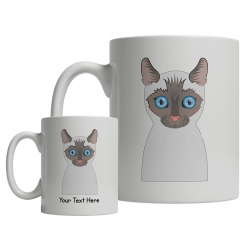 Siamese Cartoon Mug