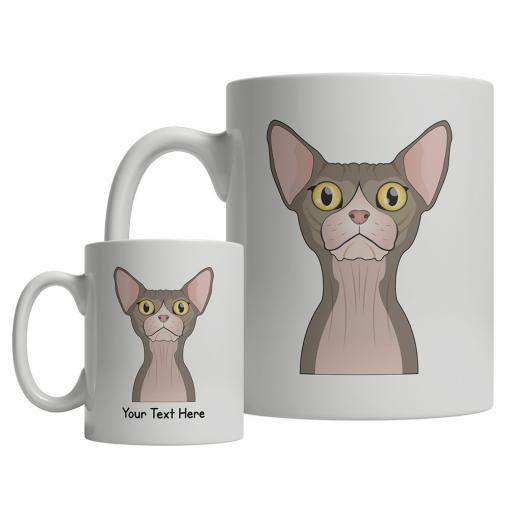 Sphynx Cartoon Mug