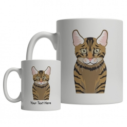 Toyger Cartoon Mug
