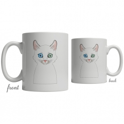 Turkish Angora Coffee Mug