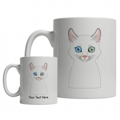 Turkish Angora Cartoon Mug