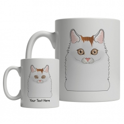 Turkish Van Cartoon Mug