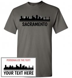 Sacramento, CA Skyline T-Shirt