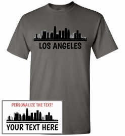 Los Angeles, CA Skyline T-Shirt