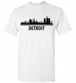 Detroit, MI Skyline T-Shirt