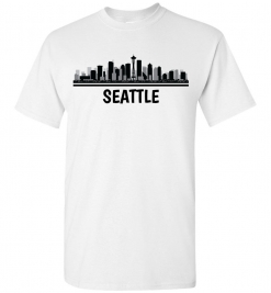 Seattle, WA Skyline T-Shirt