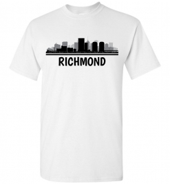 Richmond, VA Skyline T-Shirt