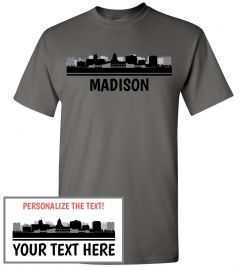 Madison, WI Skyline T-Shirt