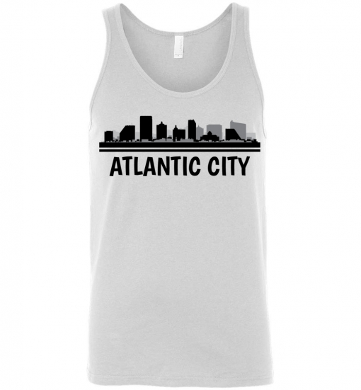 Atlantic City, NJ Skyline T-Shirt