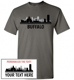 Buffalo, NY Skyline T-Shirt