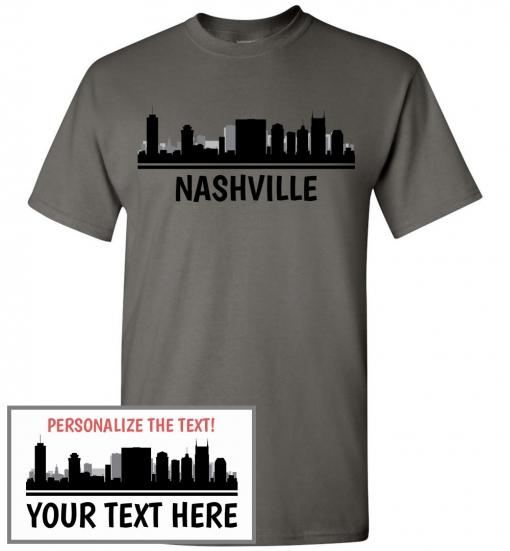 Nashville, TN Skyline T-Shirt