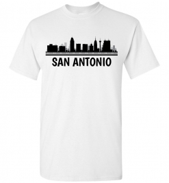 San Antonio, TX Skyline T-Shirt