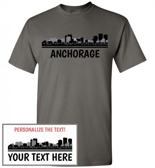 Anchorage, AL Skyline T-Shirt