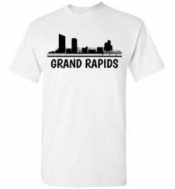 Grand Rapids, MI Skyline T-Shirt