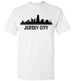 Jersey City, NJ Skyline T-Shirt