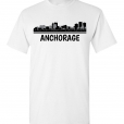 Anchorage, AL Skyline T-Shirt