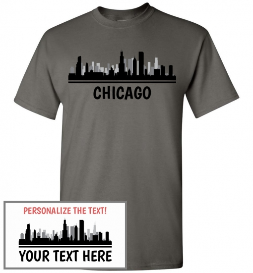 Chicago, IL Skyline T-Shirt
