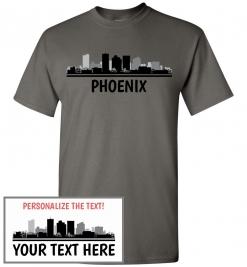 Phoenix, AZ Skyline T-Shirt