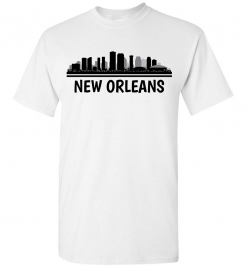New Orleans, NO Skyline T-Shirt