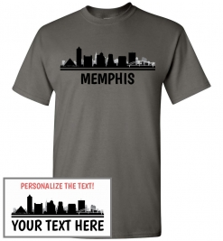 Memphis, TN Skyline T-Shirt