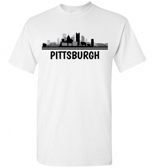 Pittsburgh, PA Skyline T-Shirt