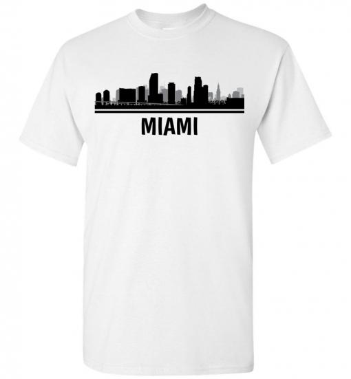 Miami, FL Skyline T-Shirt