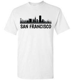 San Francisco, CA Skyline T-Shirt