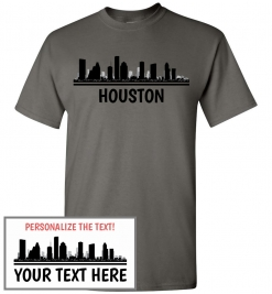 Houston, TX Skyline T-Shirt