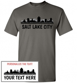 Salt Lake City, UT Skyline T-Shirt