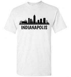 Indianapolis, IN Skyline T-Shirt