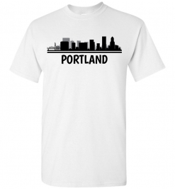 Portland, OR Skyline T-Shirt