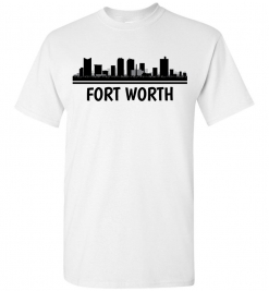 Fort Worth, TX Skyline T-Shirt