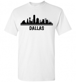Dallas, TX Skyline T-Shirt