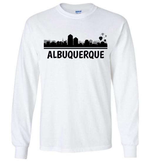 Albuquerque, NM Skyline T-Shirt